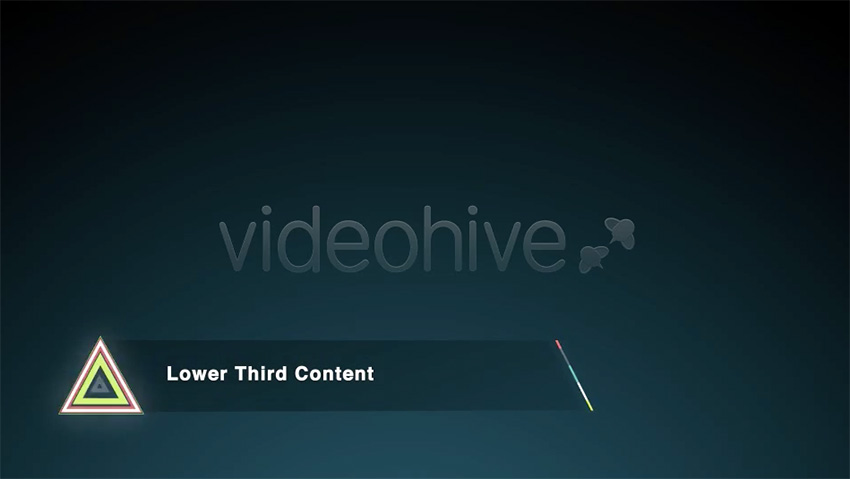 20 Great Lower Thirds