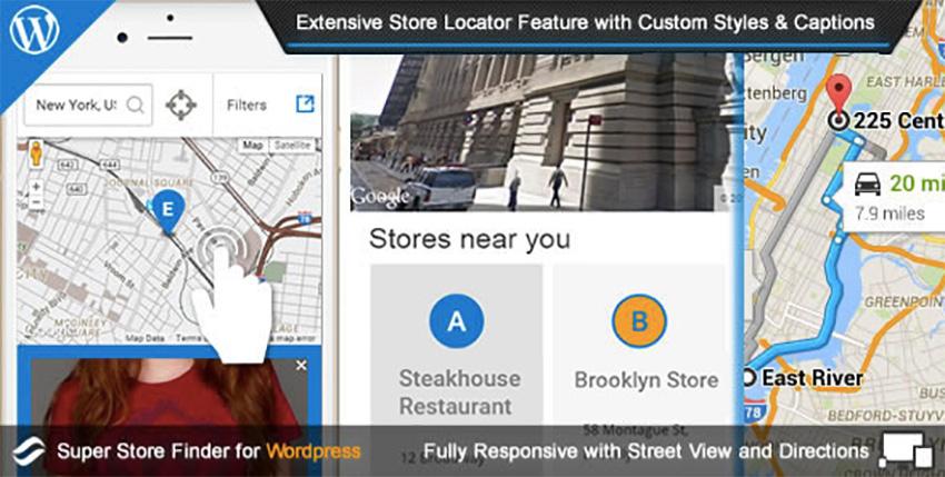 Super Store Finder for WordPress