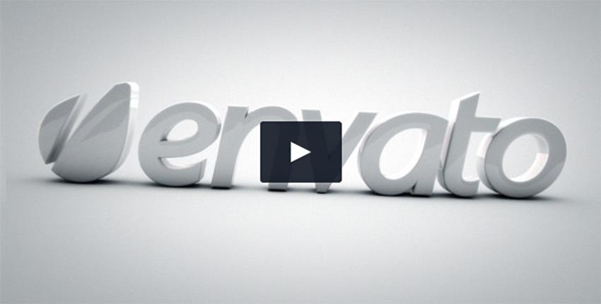 Elegant 3D Intro