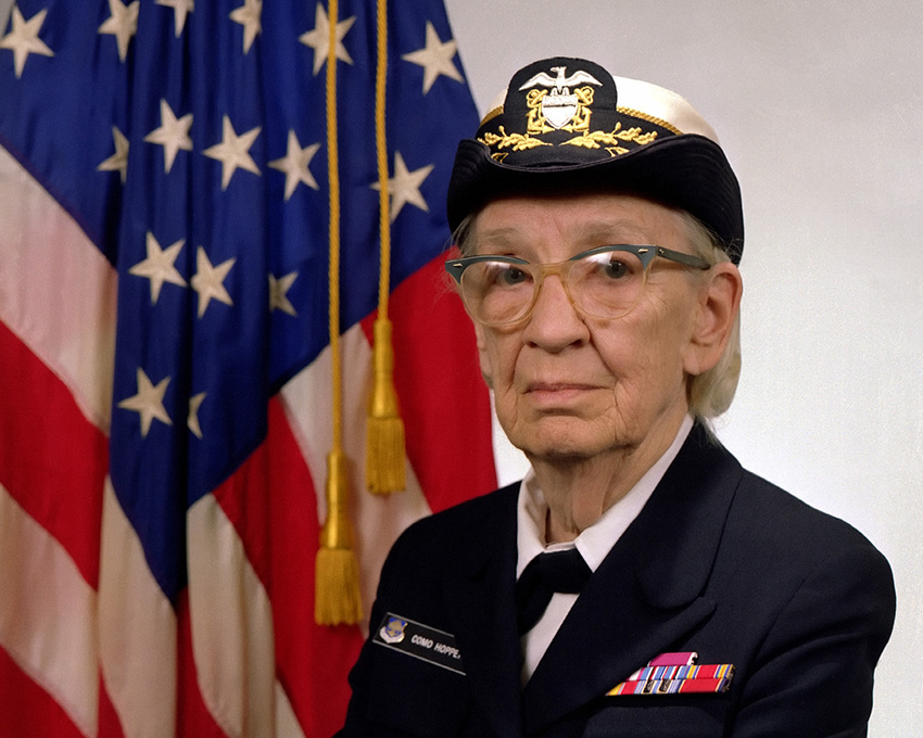 Public Domain image of Grace Hopper