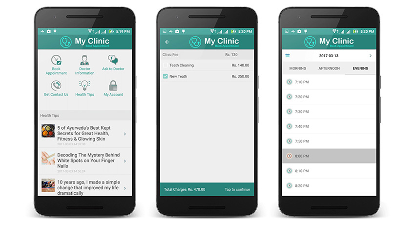 Clinic Booking App