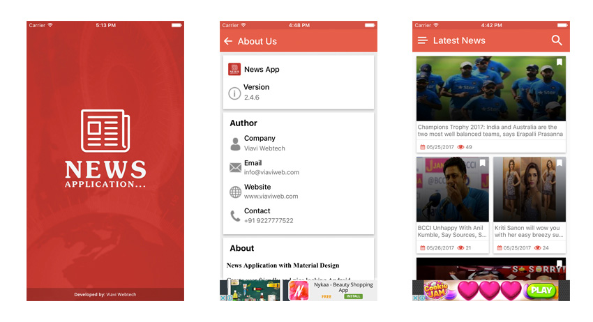 10 Best iOS News App Templates