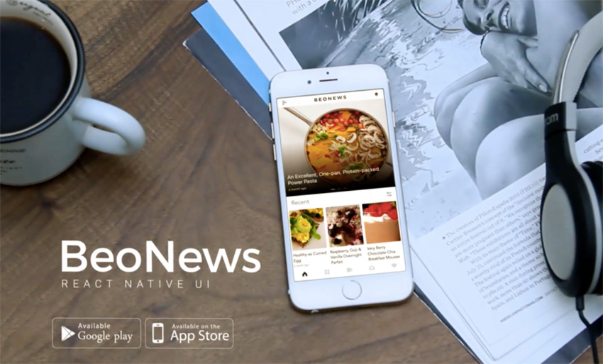 BeoNews – Best react native templates