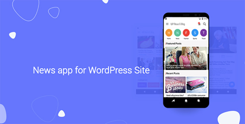 News App for WordPress Site