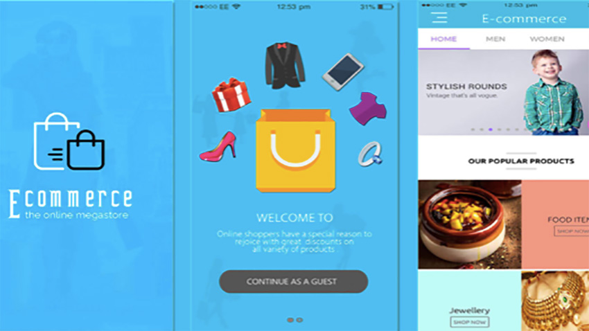 15 Best eCommerce Android App Templates