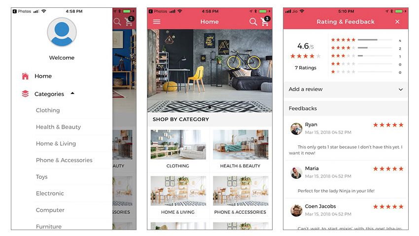 15 Best Ecommerce Android App Templates 0 0x