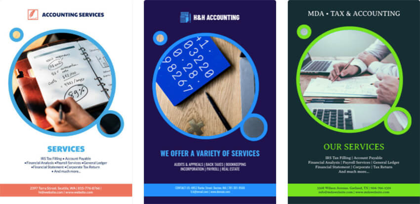 Business Flyer Maker for Accountants