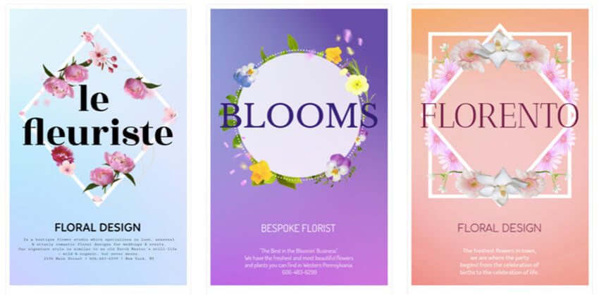 Business Flyer Maker to Design Flyers for Florists
