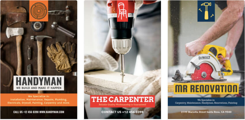 Flyer Design Maker for Handyman Businesses