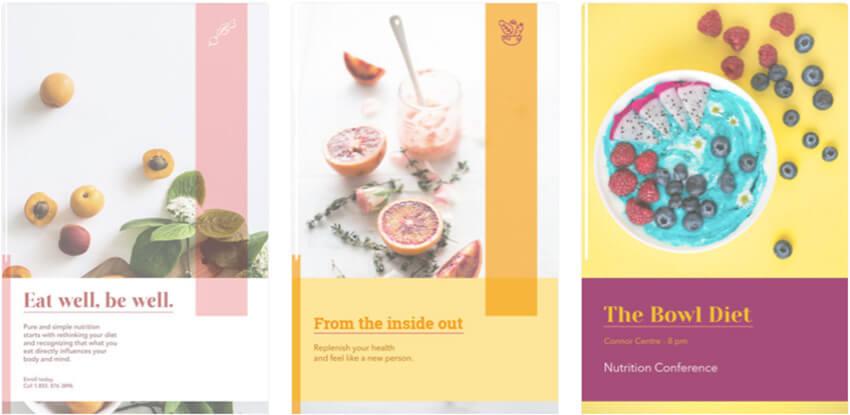Flyer Maker for Nutrition Businesses