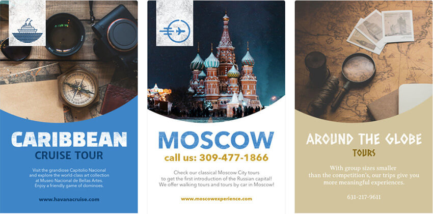 Flyer Template for Travel Experience Business