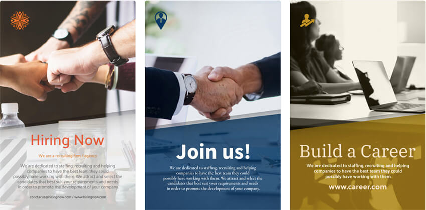 HR Businesses Flyer Template
