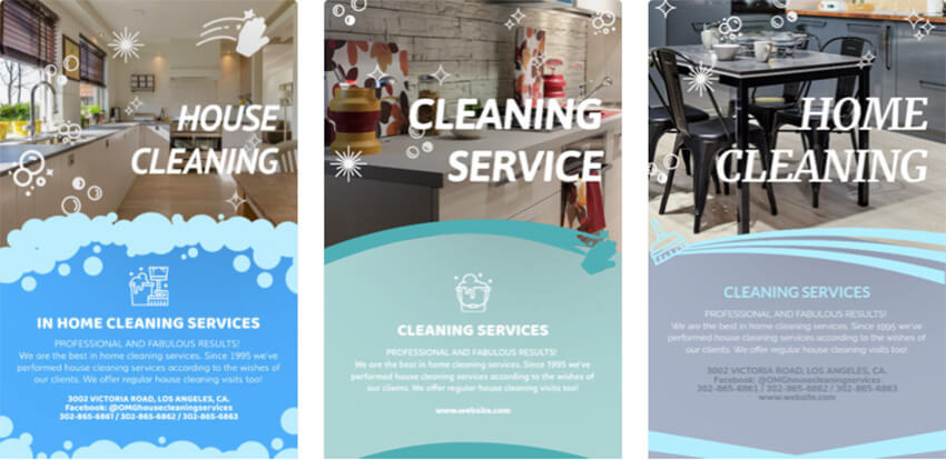 House Cleaning Flyer Maker