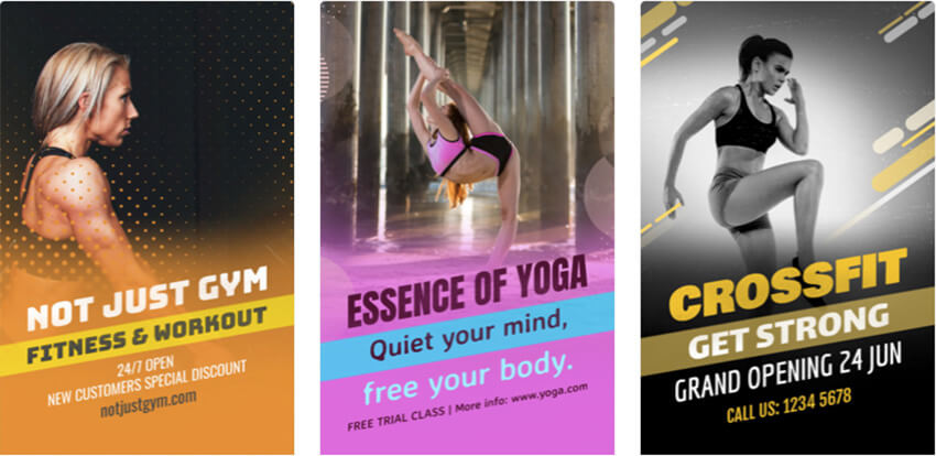 Gym Flyer Maker