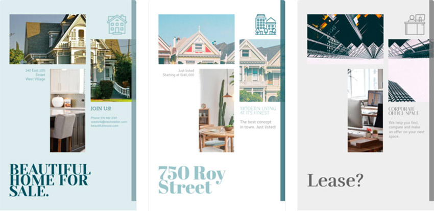 Design Real Estate Flyers