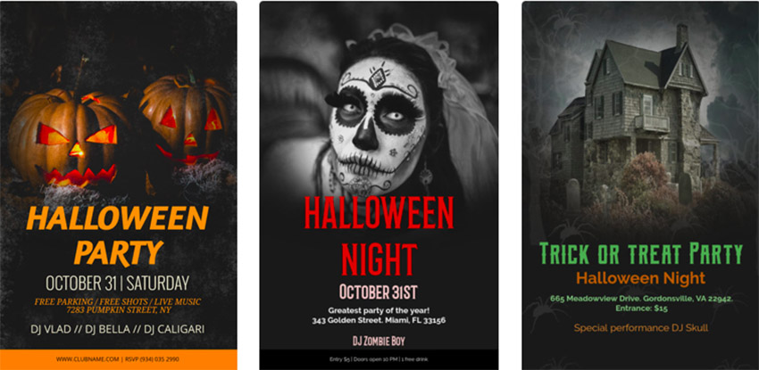 Halloween Party Flyer Maker
