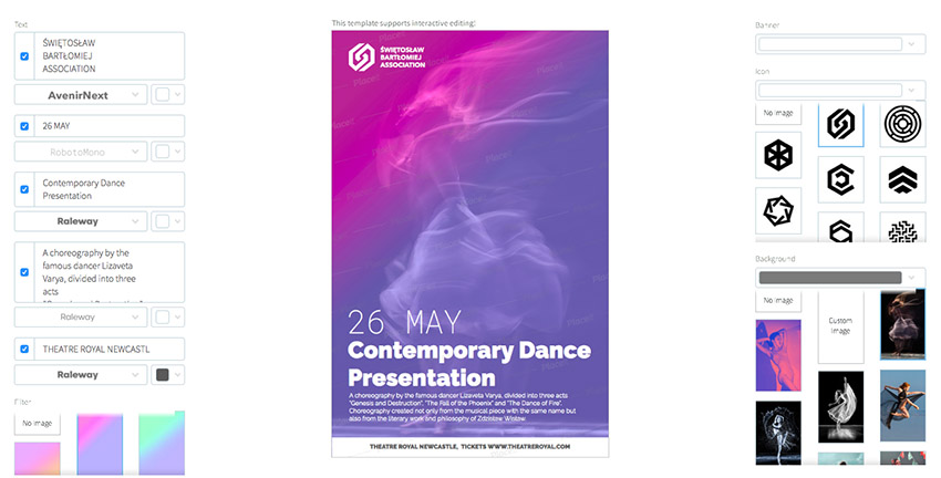 Contemporary Dance Flyer Maker