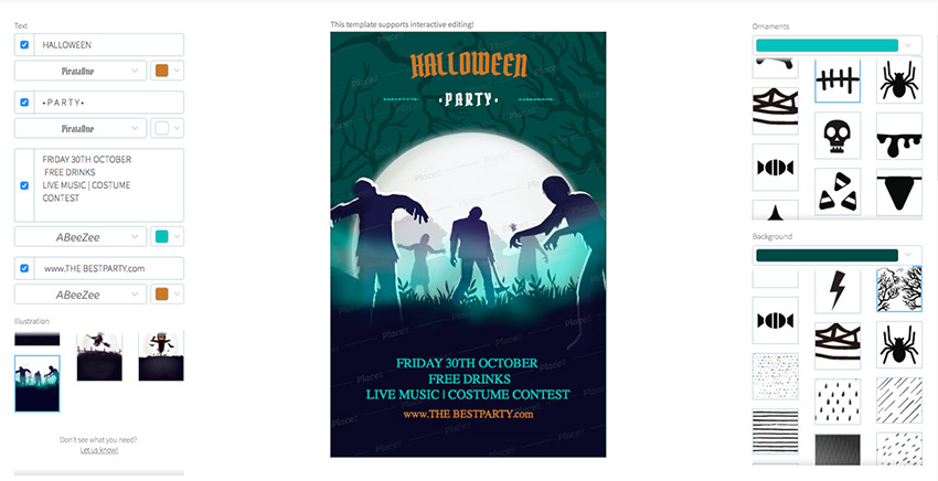 Halloween Online Flyer Maker