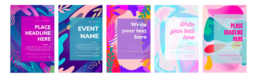 24 cool event flyer templates using a flyer maker without photoshop
