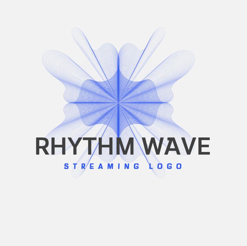 20 Cool DJ EDM Music Logo Designs
