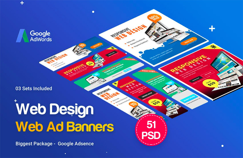 20 online ad banner maker template designs to customise now