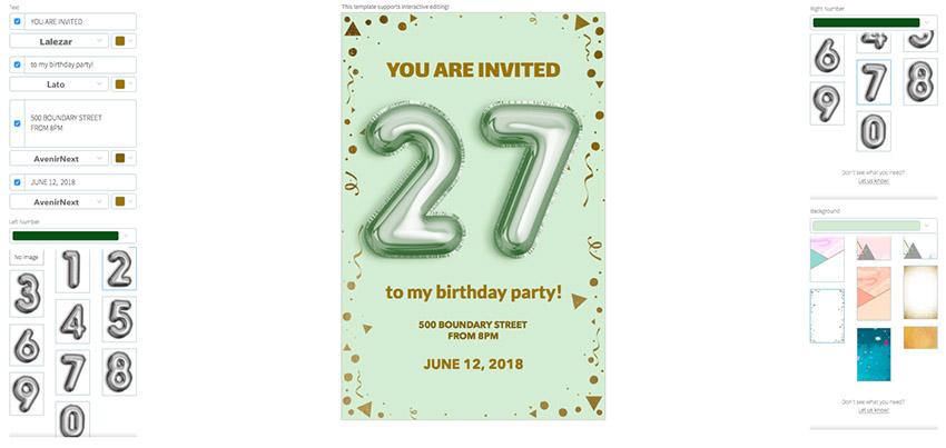 party flyer maker app