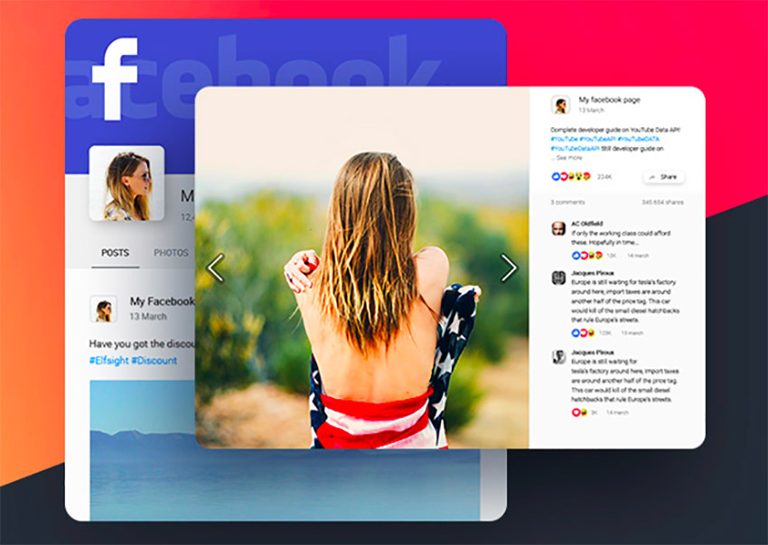 Plugin Facebook Feed para WordPress