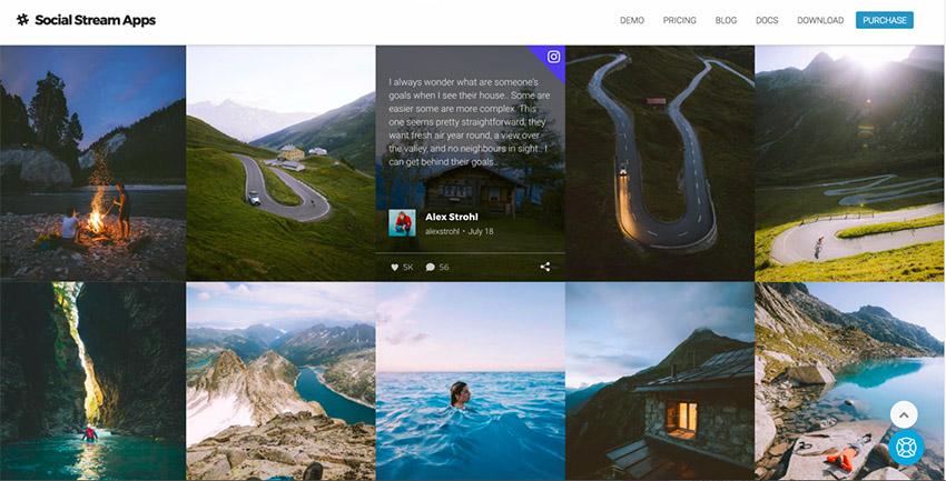 Flow-Flow plugin para mostrar el muro de tus redes sociales en WordPress