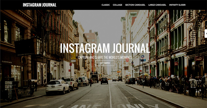 Plugin Instagram Journal