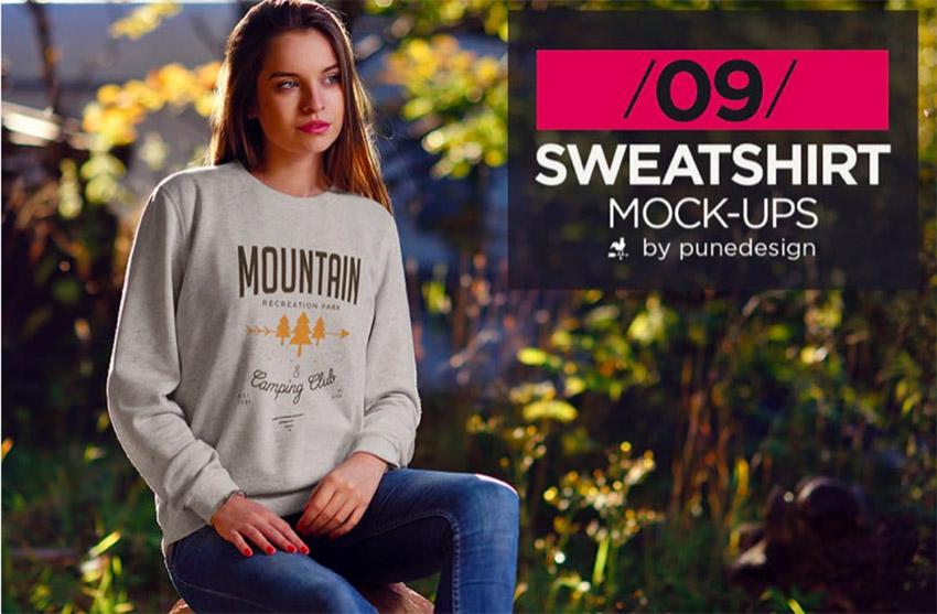 Sweatshirt MockUp Vol2
