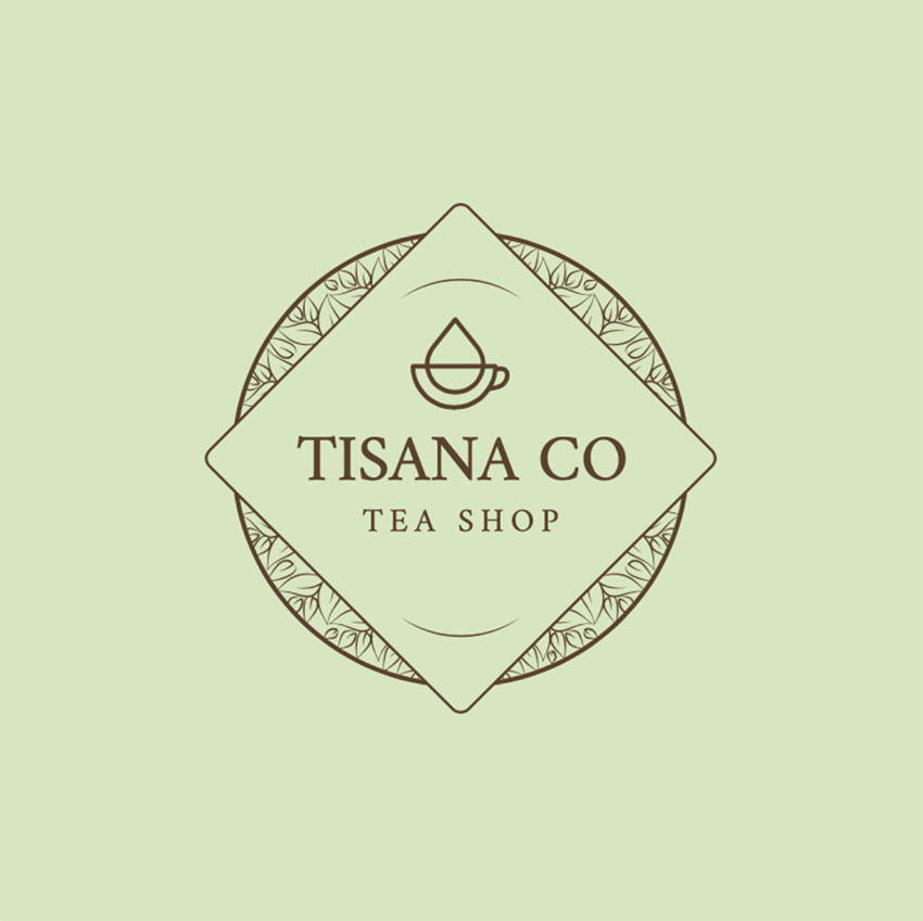 Tea Shop Logo Design