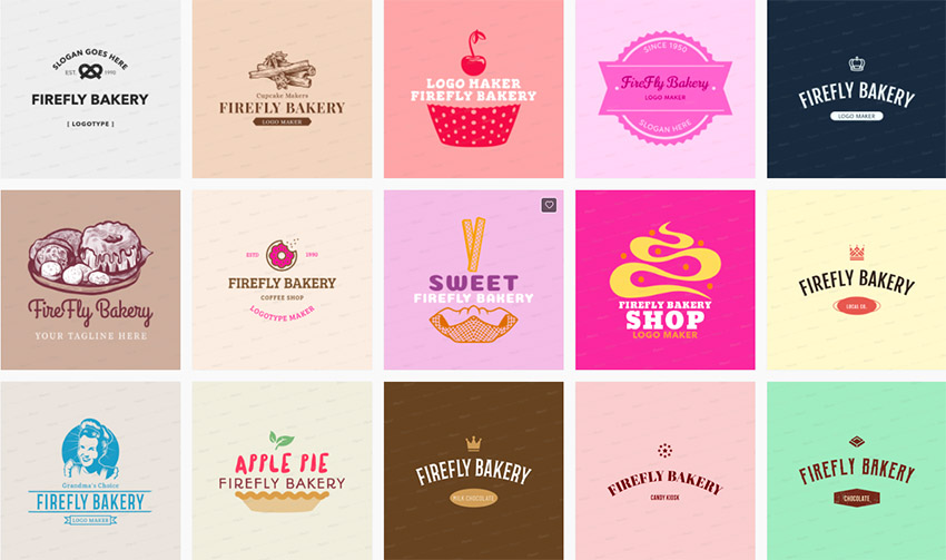 20 Modern Bakery Shop & Cafe Logo Design Ideas for 2019