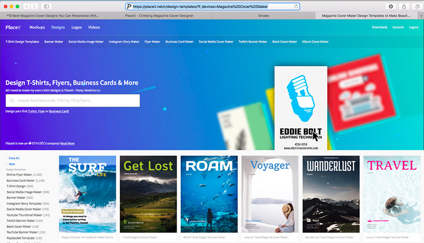Best magazine cover design software
