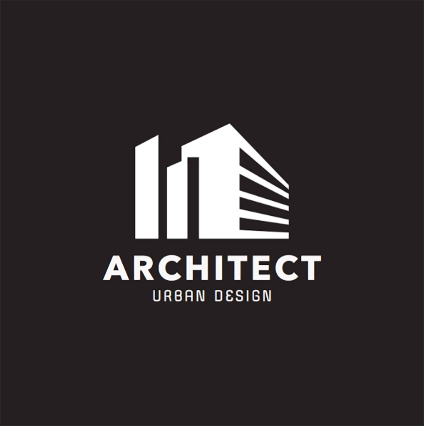 Logo Design Template for Architect Group