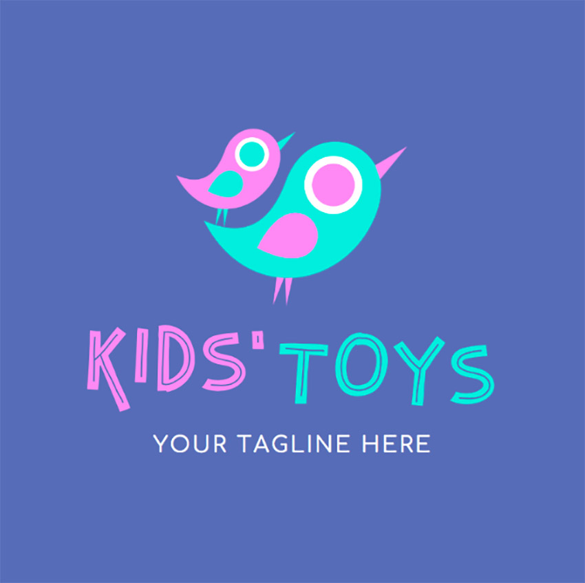 Kids Toys Logo Maker