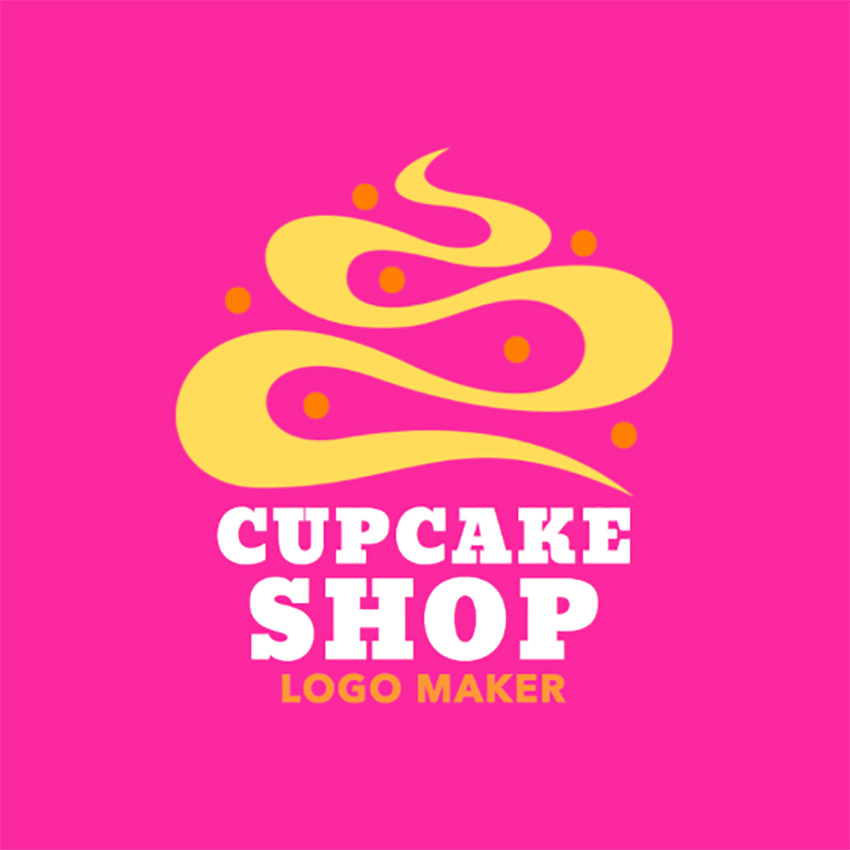 Logo Maker to Design a Cupcake Logo