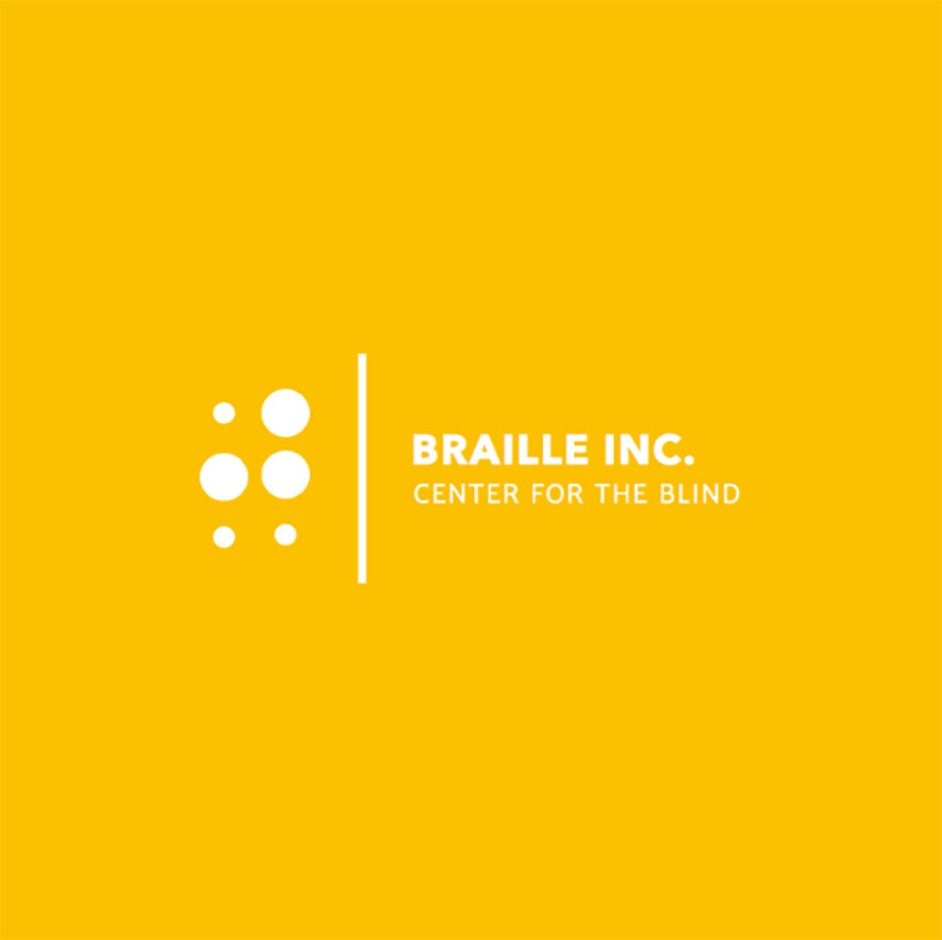 Logo Design Template for Braille Learning Center