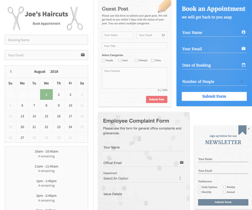 Choose a Form Builder: The 7 Best WordPress Form Builders Compared