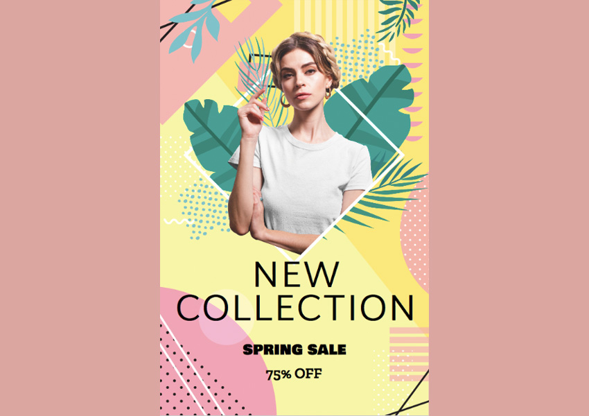 Online Flyer Creator for Clothing Store Sales