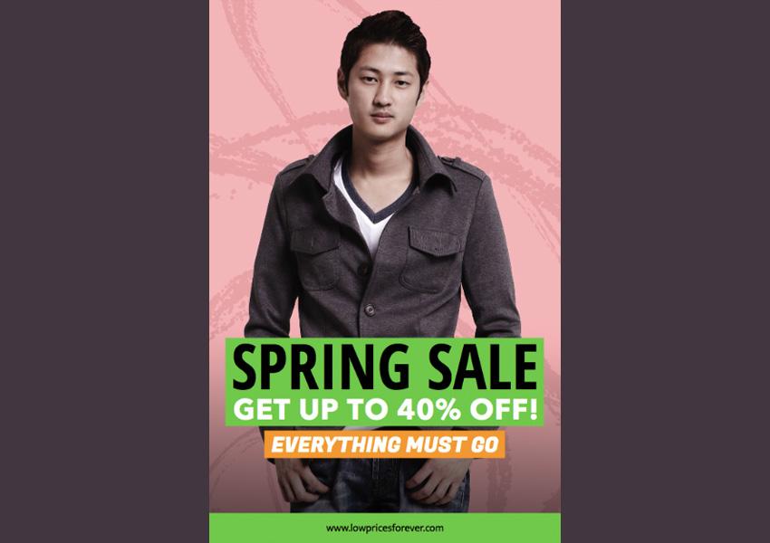 Online Flyer Maker for Spring Sales