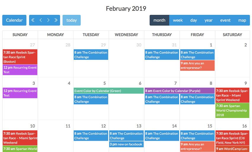 Calendarize it
