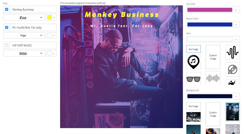 Hip-Hop Album Cover Design Maker