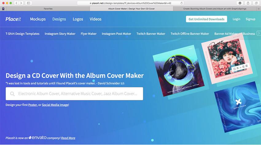 27 Album Cover Art Templates Using an Album Cover Maker
