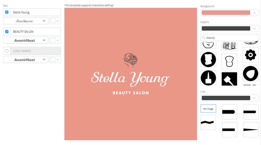 Minimalist Beauty Logo Creator