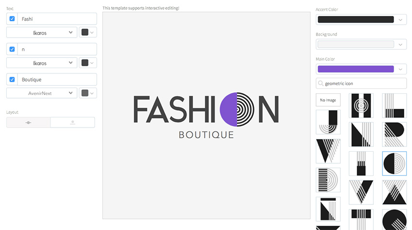 20 Cool Fashion & Beauty Logo Designs (For Beauty Salons