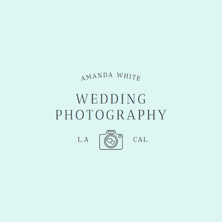 Wedding Photographer Logo Maker