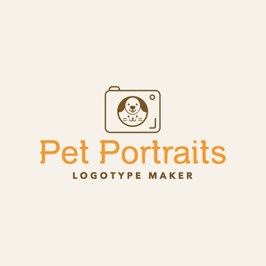Photography Logo Maker for Pet Photographers