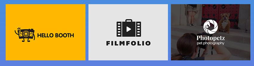 Envato Elements Photography Logos