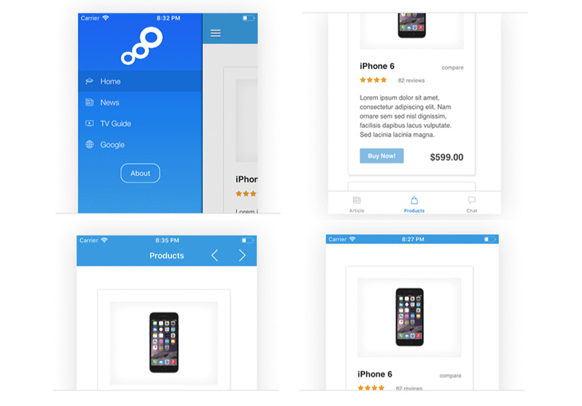 17 Best iOS App Templates of 2019