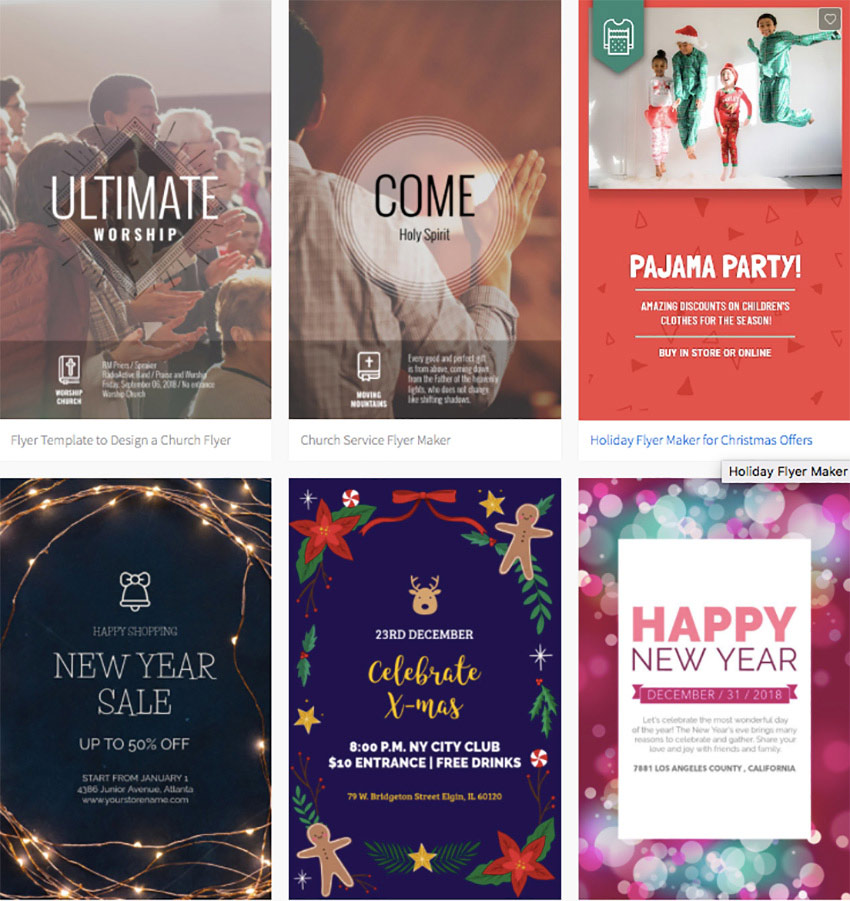 free flyer templates for church events.html